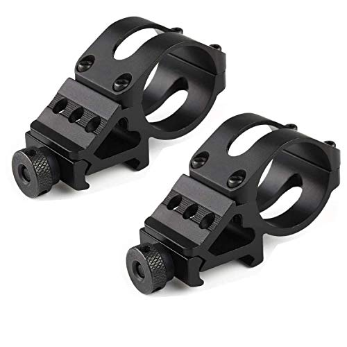 TACwolf 2 Pack Tactical 1' Offset Mount for Flashlights