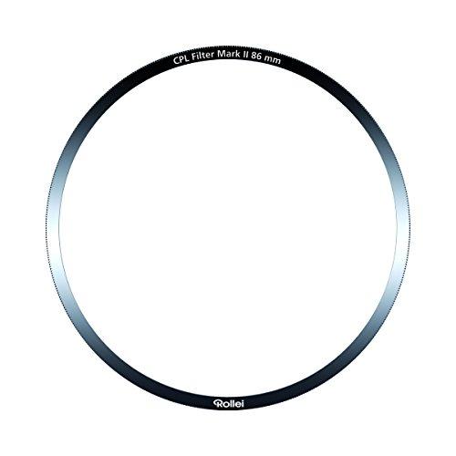 Rollei Profi Ersatz Polfilter Mark II - CPL Filter (Polarisationsfilter) aus Gorilla Glas für das 100 mm Filterhalter System von Rollei