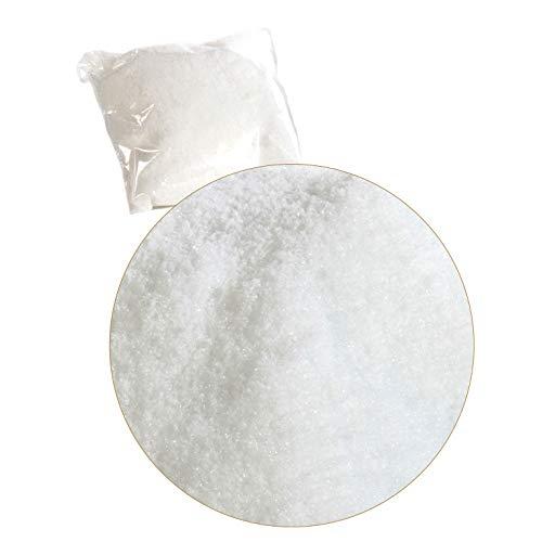 EUROCINSA Ref.27700 Pack de 2 Nieve Artificial en Bolsa de 4 litros, 2uds, Pet, Blanco, Talla única