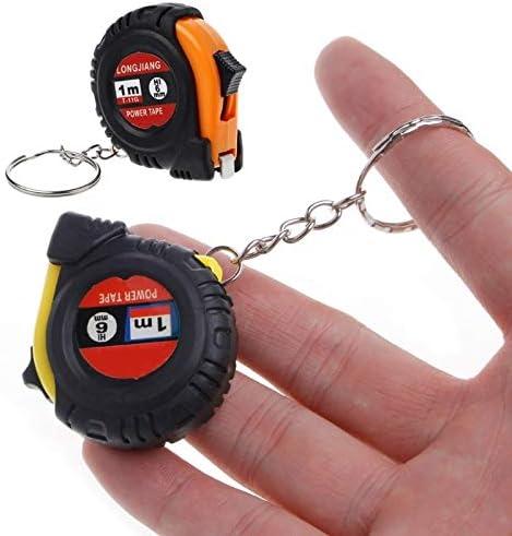 DSWSSH Bargain DSWJC Retractable Ruler Tape Mini OFFicial mail order Chain Key Pocke Measure