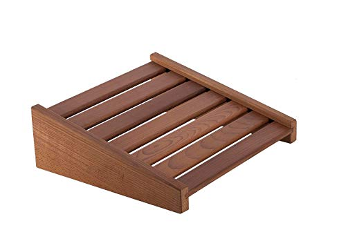 eliga Repose-tête ou repose-pieds en bois thermique encollé