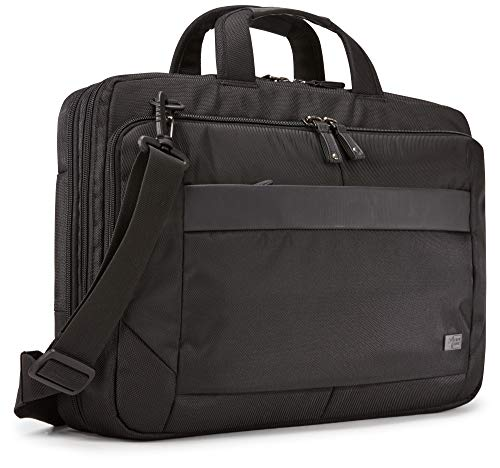 Case Logic Unisex's Notion Laptop Bag, Black, 15.6'