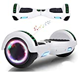 RangerBoard Hoverboard Pas Cher Blanc - 6,5' - Bluetooth - Moteur 700W - Vitesse Max 15KM/H -...