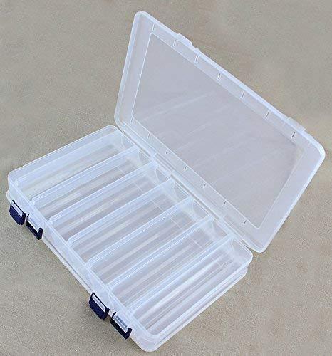 Soytich Plastikbox Angelbox Köderbox zubehörbox Angel Box TACKLEBOX (JCB203)