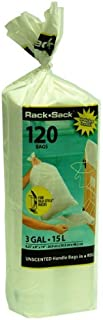 Rack Sack Refill Bags (Roll Style) 3 Gallon - 120 Count