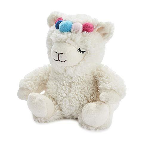 warmies Cozy Plush Junior Llama Lavanda Perfumado Mini Juguete Microwavable