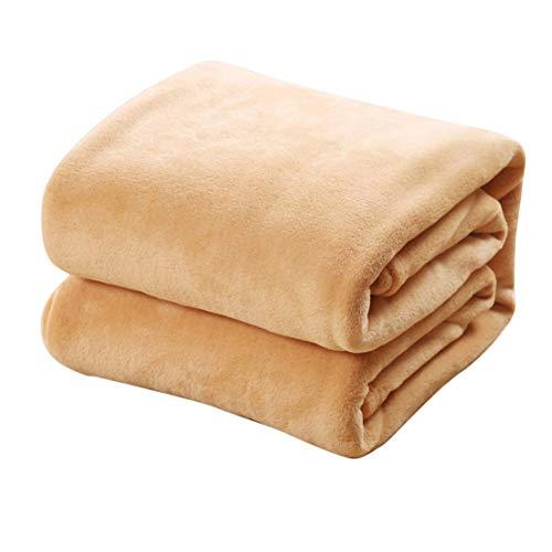 70x120 CM Super Doux Garder Au Chaud Flanelle Couverture Grande Taille Solide Couleur Accueil Canapé Literie Bureau Couverture De Voiture Textile Maison