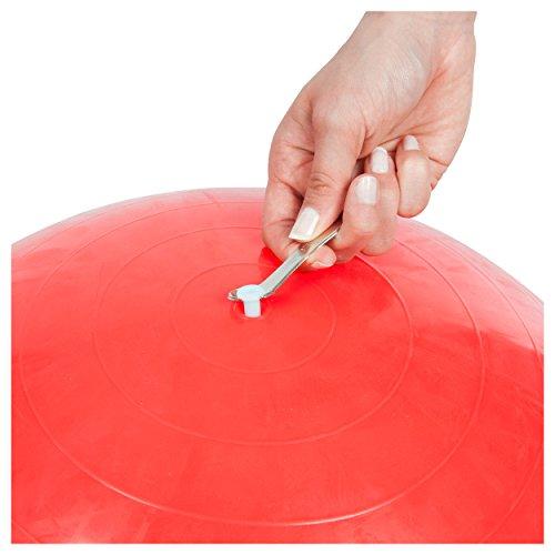 Ventilöffner Metall für Gymnastikbälle Gymnastikball Sitzball Ventilschlüssel