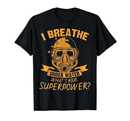 Camisa de buceo - Respiro bajo el agua, buzo - buceo Camiseta