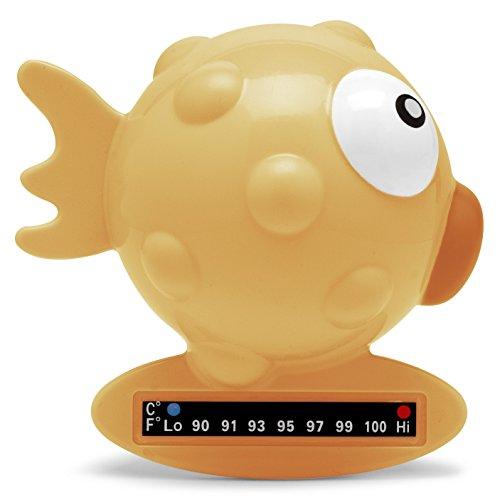 Chicco Termometro da Bagno Pesce Palla, Arancione