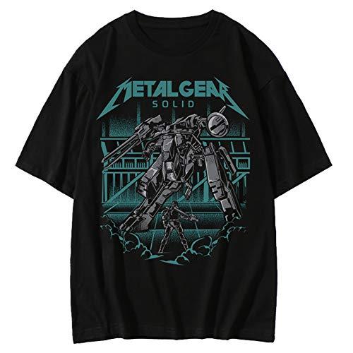 KOJIMA Metal Gear メタルギアソリッドV ファントムペイン メタルギア メンズ/レディース Tシャツ 夏服 半袖 シャツ