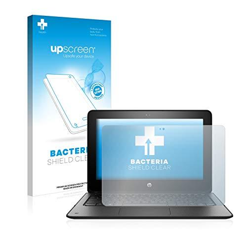 upscreen Antibakterielle Schutzfolie kompatibel mit HP ProBook x360 11 G1 EE klare Bildschirmschutz-Folie