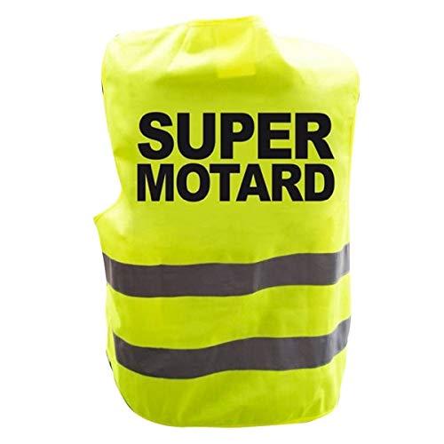 Eurowebb reflecterend vest Super Biker neon geel