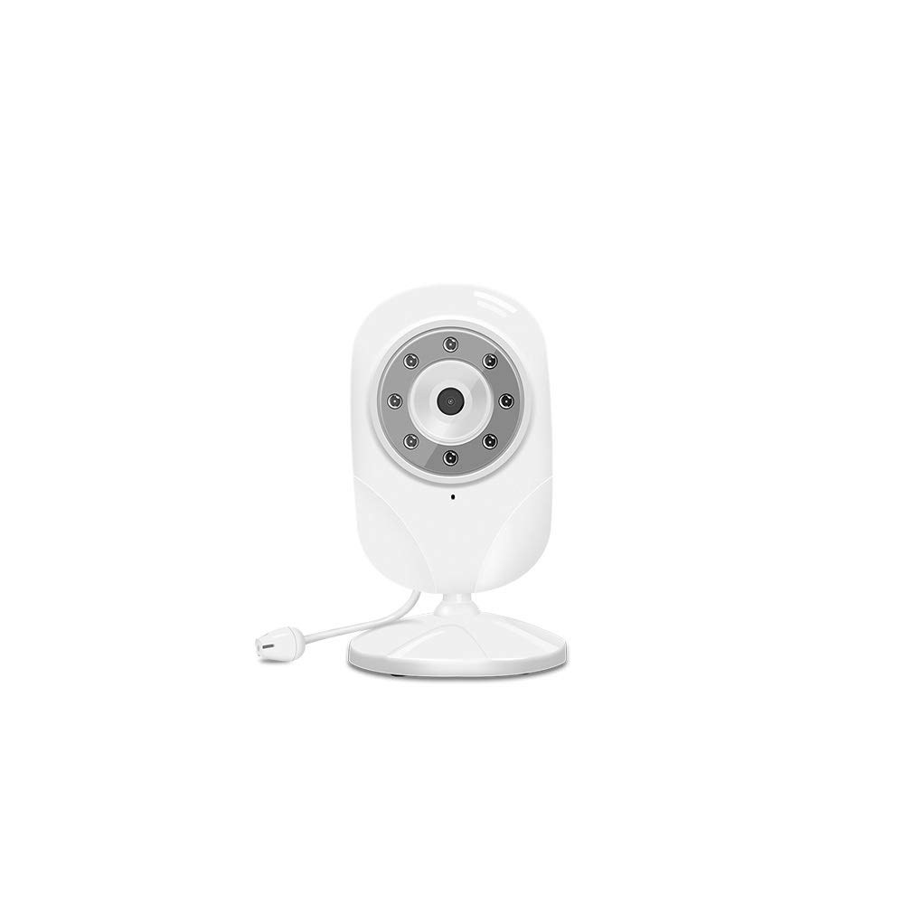 Add-on Baby Camera Unit for Peiloh Child Security Video Baby Monitor, Ideal for New Parents Easy to Pair and Clear Night Vision (CD-A2)