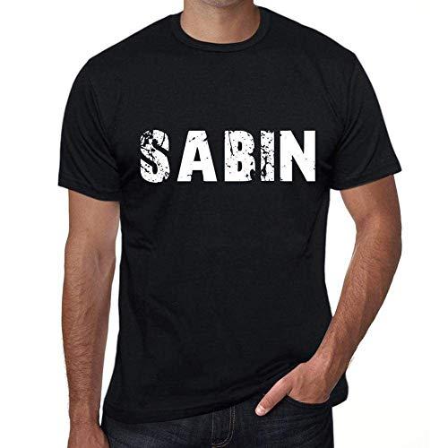 One in the City Sabin Hombre Camiseta Negro Regalo De Cumpleaños 00553