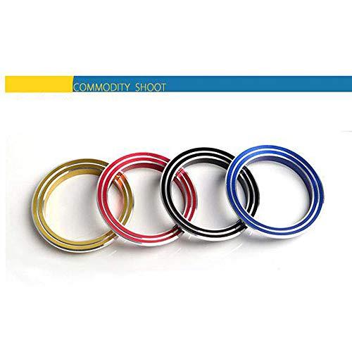 ZHUHAI HONGKANG DONGMAO TRADING CO LTD Cercle décoratif de Boutons de climatisation de Voiture pour Le Paragraphe CX-5,15 13-14 Doit Comfort Edition CX-5, Un Tezi
