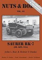 Nuts & Bolts Vol.5 改訂版 装輪装軌併用装甲車ザウラー Revised Sd.Kfz. 254 Saurer RK-7, Wheel-cumtrack vehicle - Mittlerer gepanzerter Beobachtungskraftwagen:•2nd reprint