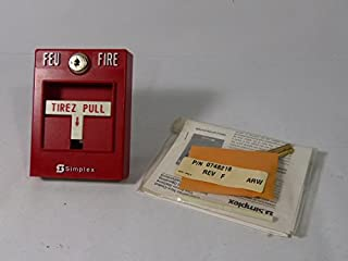 Simplex 2099 Manual Fire Alarm Pull Station with Key