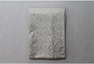 De'Carpet Cortina Plástico Galería con Anillas (Blanco, 200x250cm)