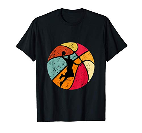 Baloncesto 70s 80s 90s Vintage Basketball Player Camiseta