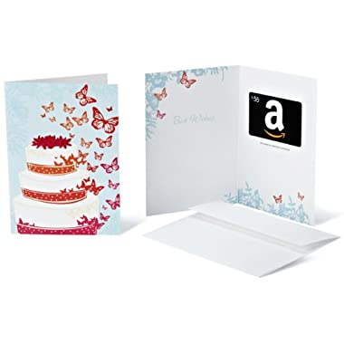 Amazon.com $55 Gift Card in a Greeting Card (Wedding Design)
