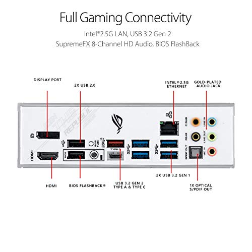 Asus ROG STRIX Z490-A GAMING ATX LGA1200 Motherboard