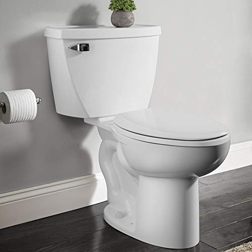 American Standard 2467016.020 Cadet Right Height Elongated Pressure-Assisted Toilet, 1.6 GPF, White