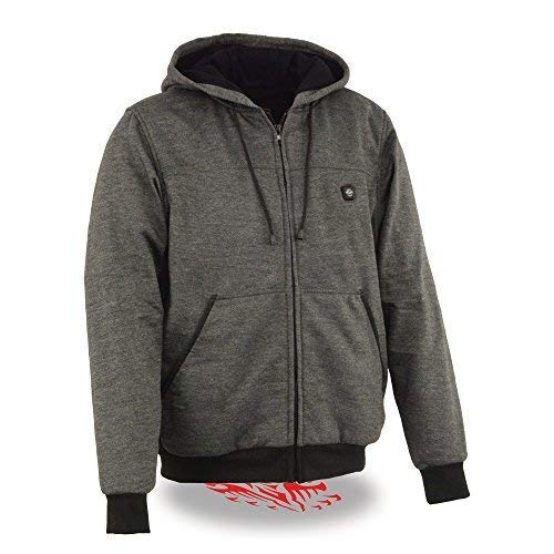 Milwaukee Performance-Men's Heated Hoodie w/Front&Back Heating Elements-BATTERY PACK...