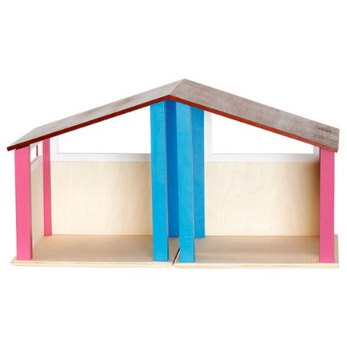 Selecta Puppenhaus 59 x 32 x 29,5 cm aus Holz - Made in Germany