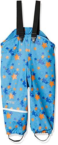 CareTec Kinder wasserdichte Regenlatzhose mit Fleecefutter (verschiedene Farben), Blau (Blue 728), (Herstellergröße:86)