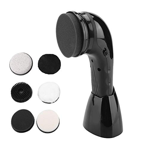 FTVOGUE Shoe Polisher USB Rechargeable Electric Shoe Brush Handheld Multifunctional Leather Shoes Polisher Home Leather Care Device