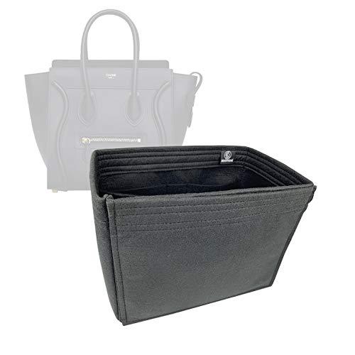 Bag Organizer for Celine Micro Luggage - Premium Felt (Handmade/20 Colors)