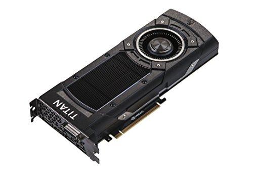 Asus GTXTITANX-12GD5 Nvidia GeForce Gaming Grafikkarte (PCIe 3.0 x16, 12GB GDDR5 Speicher, HDMI, DVI, 3x DisplayPort)
