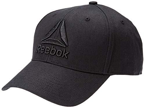 Reebok Unisex-Adult DU7176 Cap, Black, one size