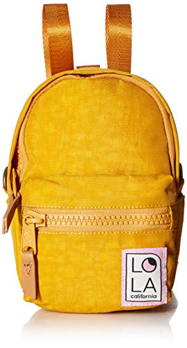 Unbekannt Lola Damen Convertible Backpack Stargazer Mini, umkehrbarer Rucksack, ocker, Einheitsgröße