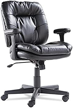 OIF Swivel/Tilt Soft-Touch Leather Task Chair