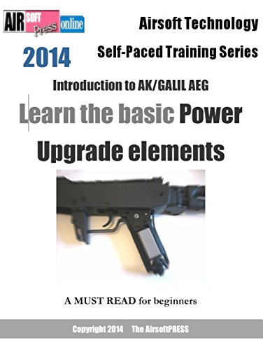 Airsoft Technology Self-Paced Training Series Introduction to AK/GALIL AEG Learn the basic Power Upgrade elements (English Edition)