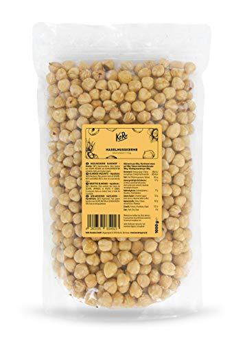 KoRo - Nocciole sgusciate e pelate 1 kg - nocciole intere, 100% naturali, non salate, senza glutine, bianche, perfette per dolci e come snack, vegan