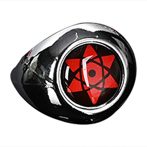 SGOT Naruto Ring Cosplay Ringe Uchiha Itachi Sharingan Sammlung(style 01)