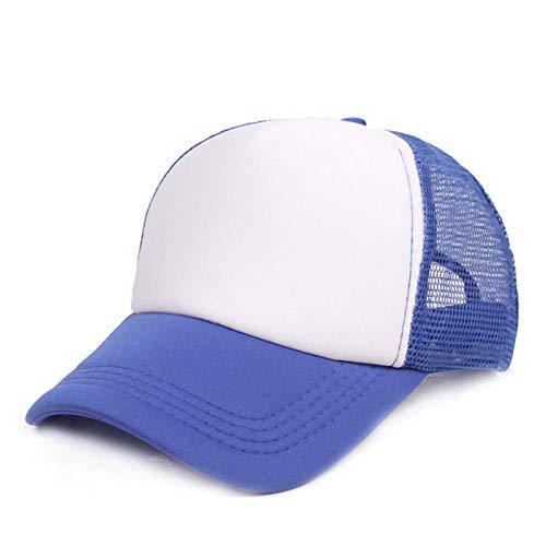 Herren Kappe Cap Sun Hat Sommer Snapback Mesh Net Trucker Hüte Verstellbare Baseball Cap-2