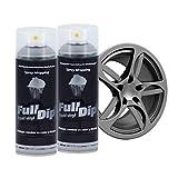 AutoFullCar Full Dip Pack 2 Spray Colores FULLDIP - TiendaFullDip.com (Nardo Grey)