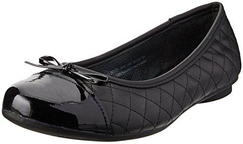 Flexi Dafne Balerina de Confort para Mujer, color Negro, 24, Mod: 21210