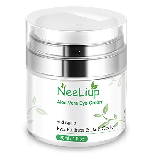 Eye Cream Anti Aging Bags & Dark Circle, Eye Puffines Under Eye Treatment with Retinol, Vitamin C & B5 Eye Moisturizer Cream for Women/Men