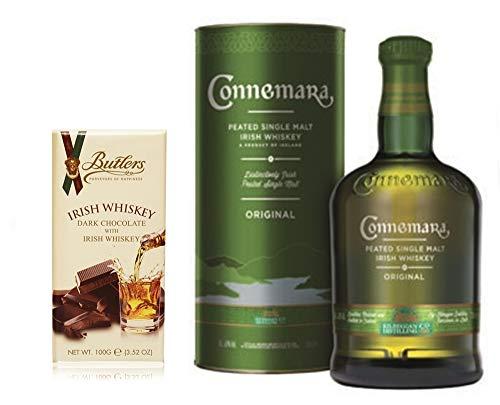 Connemara Original irish Single Malt Whiskey + Whiskey Dark Chocolate