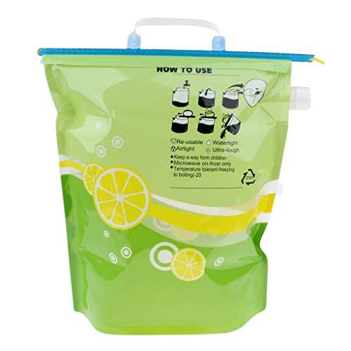 Cubo de agua plegable al aire libre del envase del portador de la bolsa de agua potable 6L