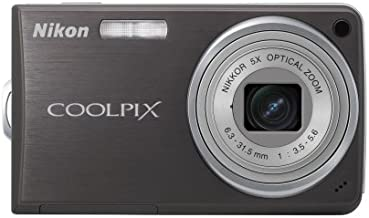 Nikon Coolpix S550 10 MP Digital Camera with 5x Optical Zoom (Graphite Black)