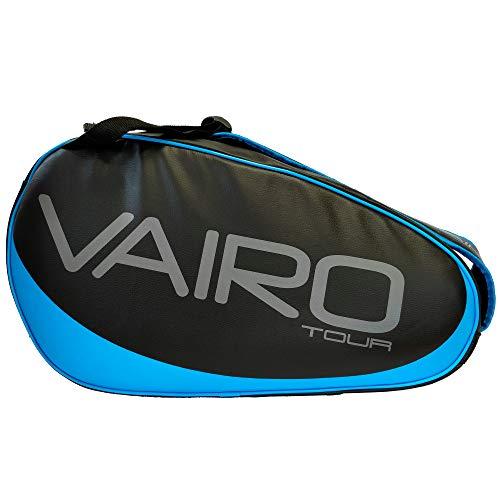 VAIRO Paletero de pádel Tour LTD (Negro - Azul)
