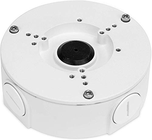 Amcrest AMCPFA130-E Abzweigdose für Bullet-Kameras, kompatibel mit AMC721BC36, AMC1081BC36, AMC1080BC36, IP2M-843EB, IP3M-943, IP3M-954E, IP2M-854E, IP5M-1173E, IP8M-2496EB