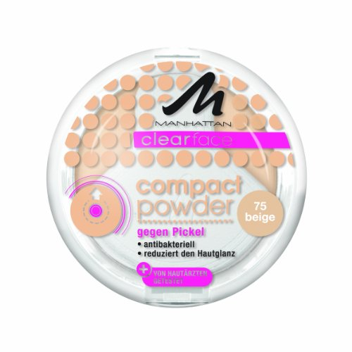 Manhattan CF Compact Powder 75, 1er Pack (1 x 9 g)