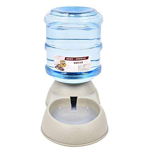 Demiawaking Dispenser Automatico Cibo e Acqua 3.8L Distributore Acqua Distributore Cibo Automatico Alimentatore Automatico per Cani e Gatti Abbeveratoio per Cani Automatico (Dispenser acqua)